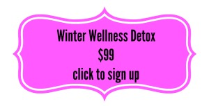 winter wellness button