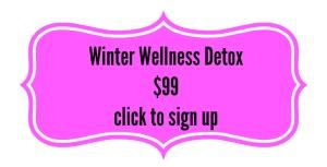 winter wellness button